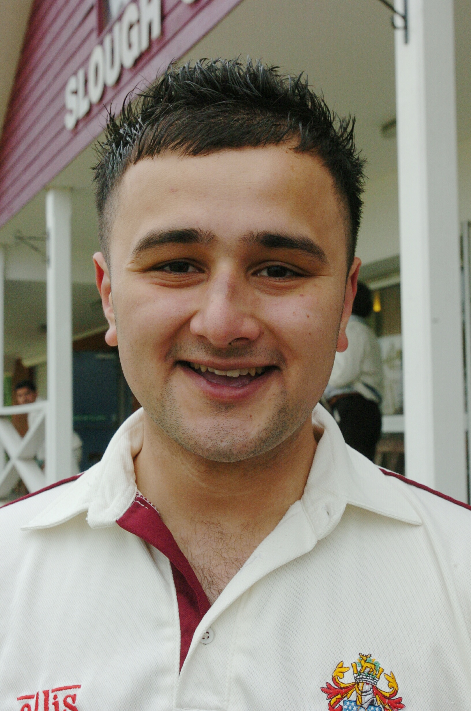 Slough's Fahim Qureshi.