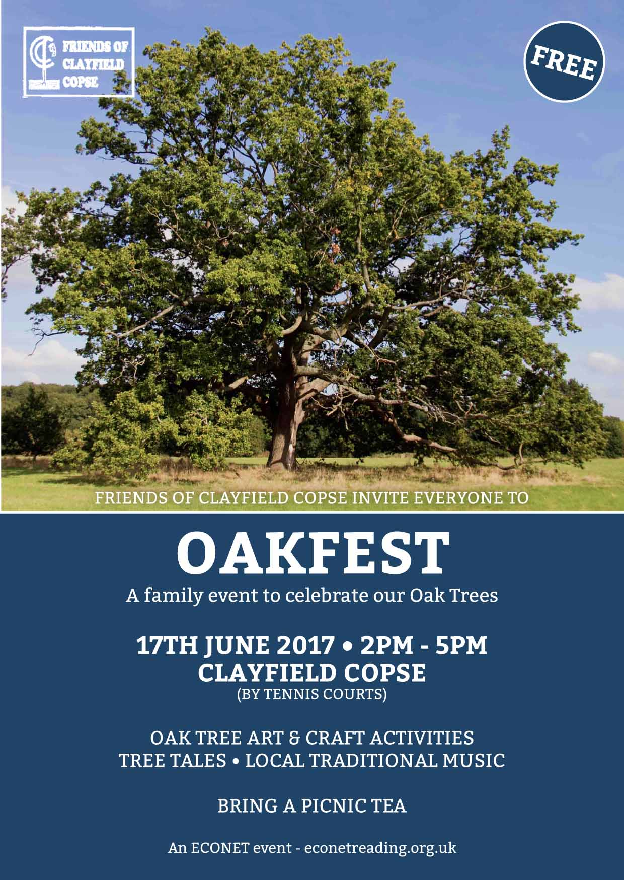 OAKFEST, A CELEBRATION OF OAK TREES