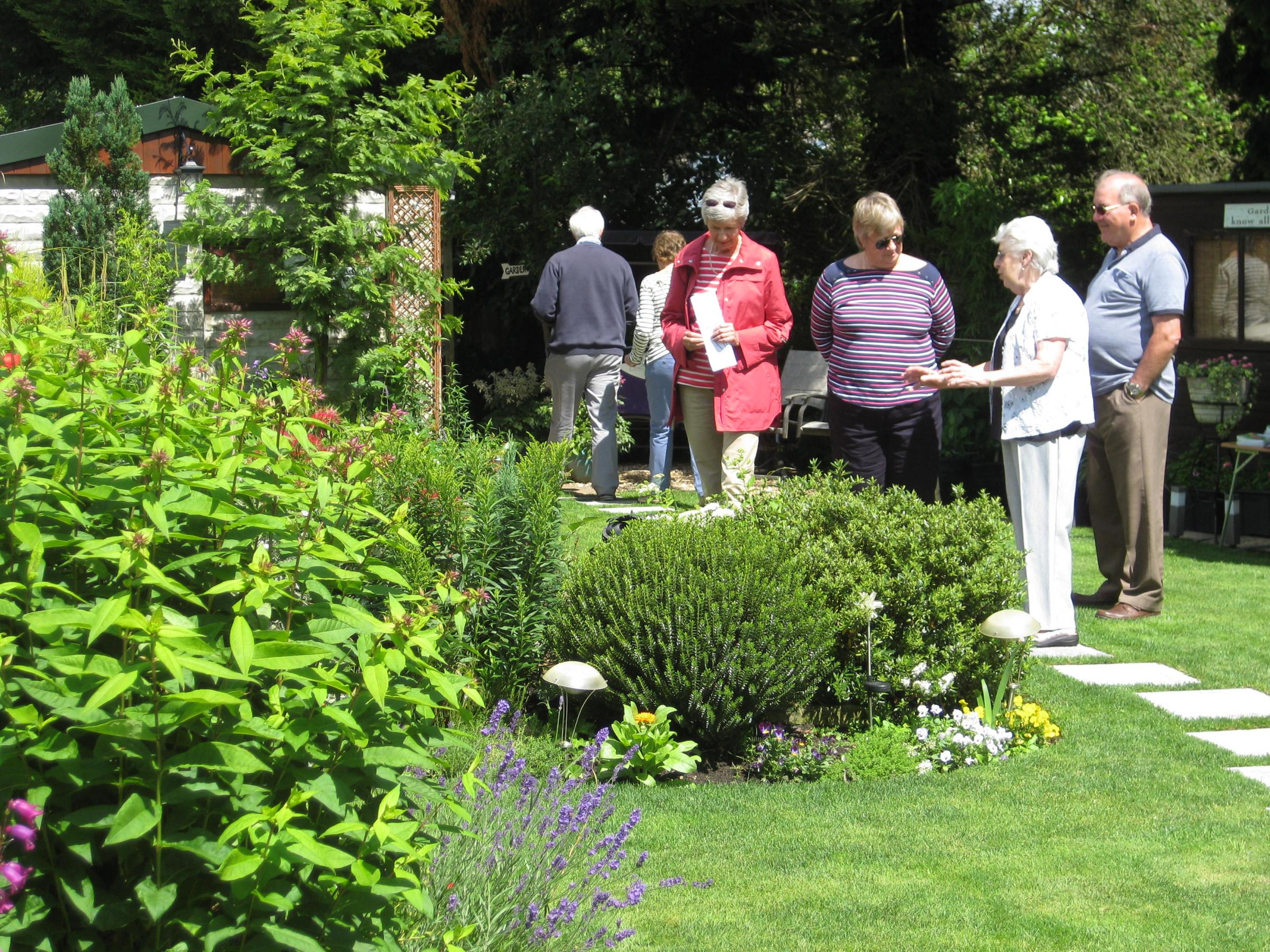 4 June Swallowfield Gardens Opening Together for NGS Nursing Charities