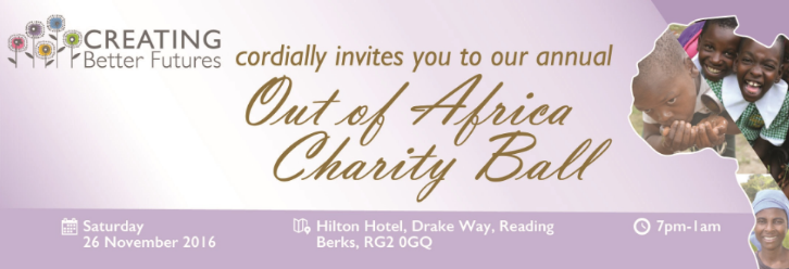 Out of Africa Charity Ball 2017 in Aid of Creating Better Futures