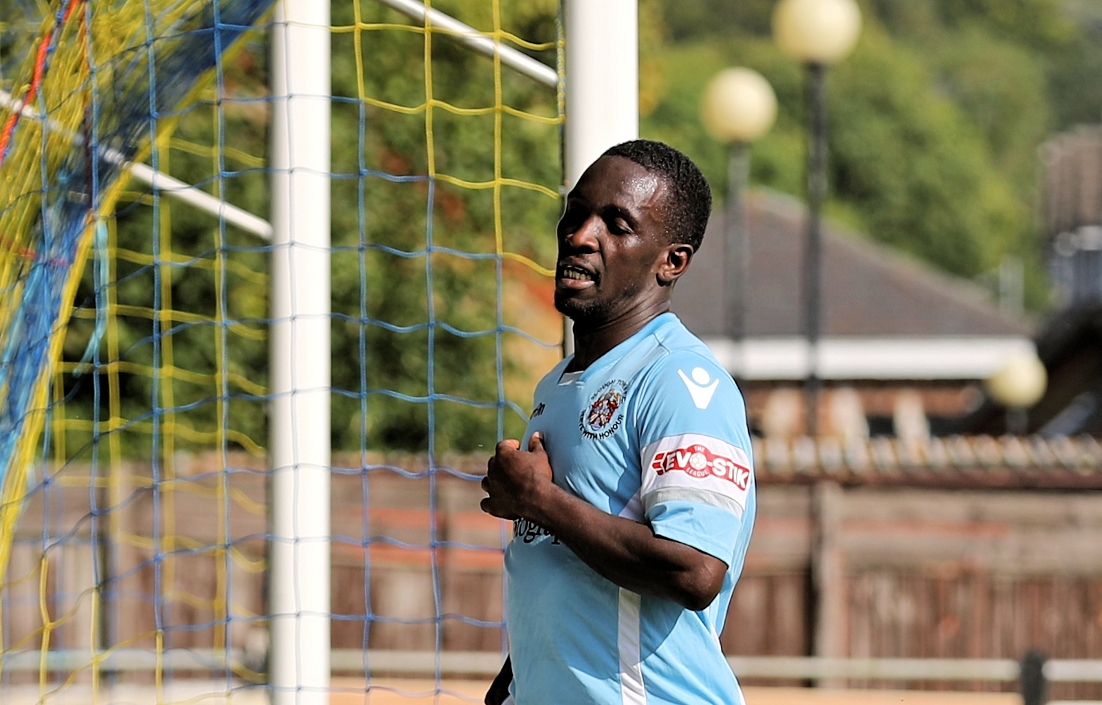 Slough Town star Manny Williams scored two goals in the 8-1 victory over Dunstable Town on Saturday. PHOTO: Gary House.