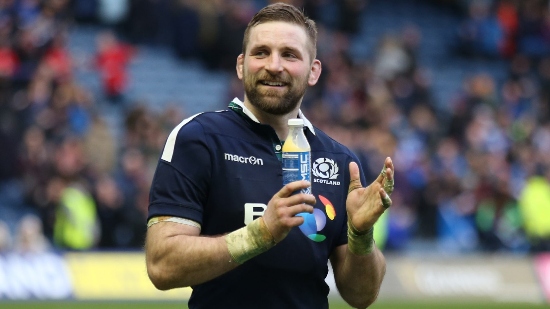 John Barclay is ready for the All Blacks