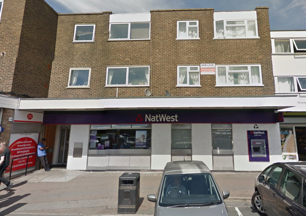 The branch of Natwest on Harrow Market, Langley, which is now set to close next year