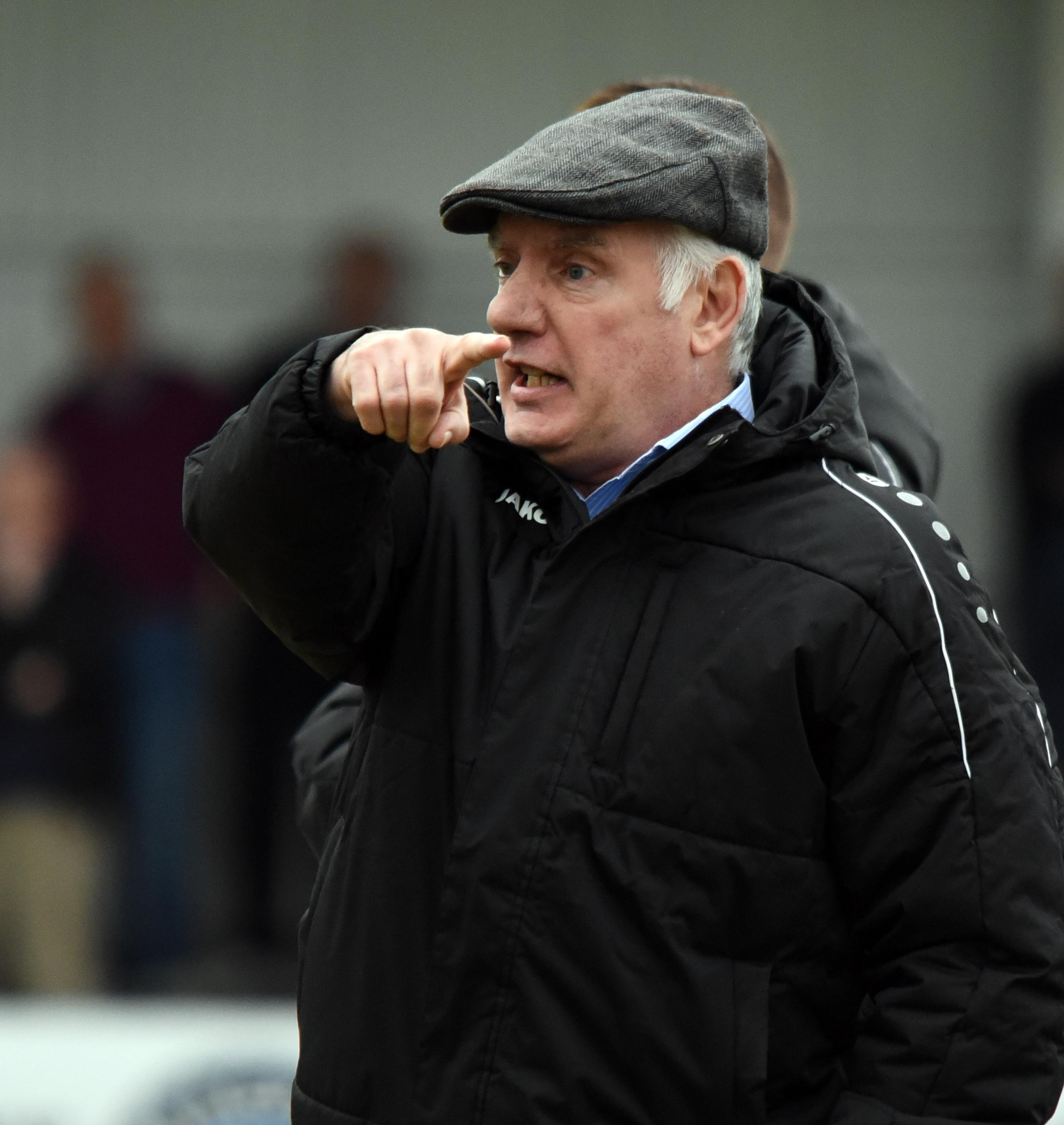 Maidenhead manager, Alan Devonshire.