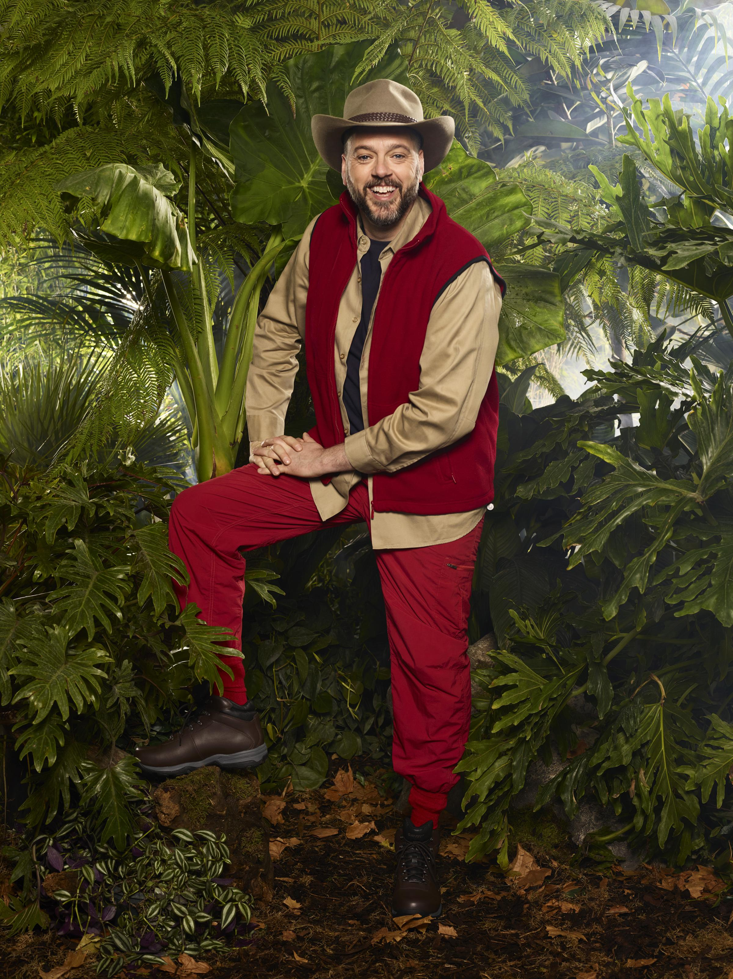 Iain Lee is in I'm a Celebrity this year, photograph: Copyright ITV Plc