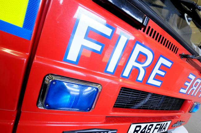 Mercedes S-Class car fire in Langley 'started deliberately' say firefighters