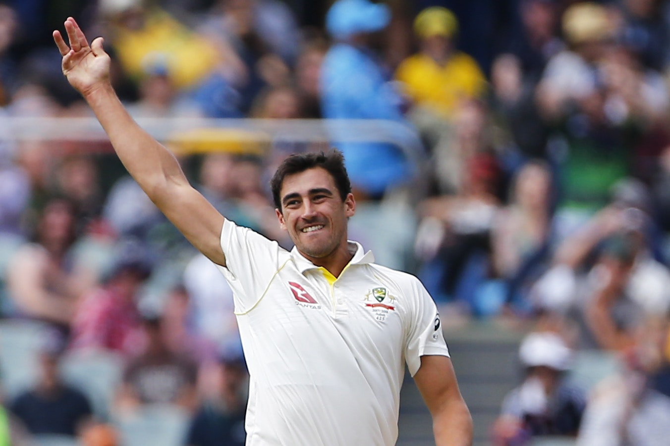 Mitchell Starc has England in his sights again at the WACA (Jason O'Brien/PA)