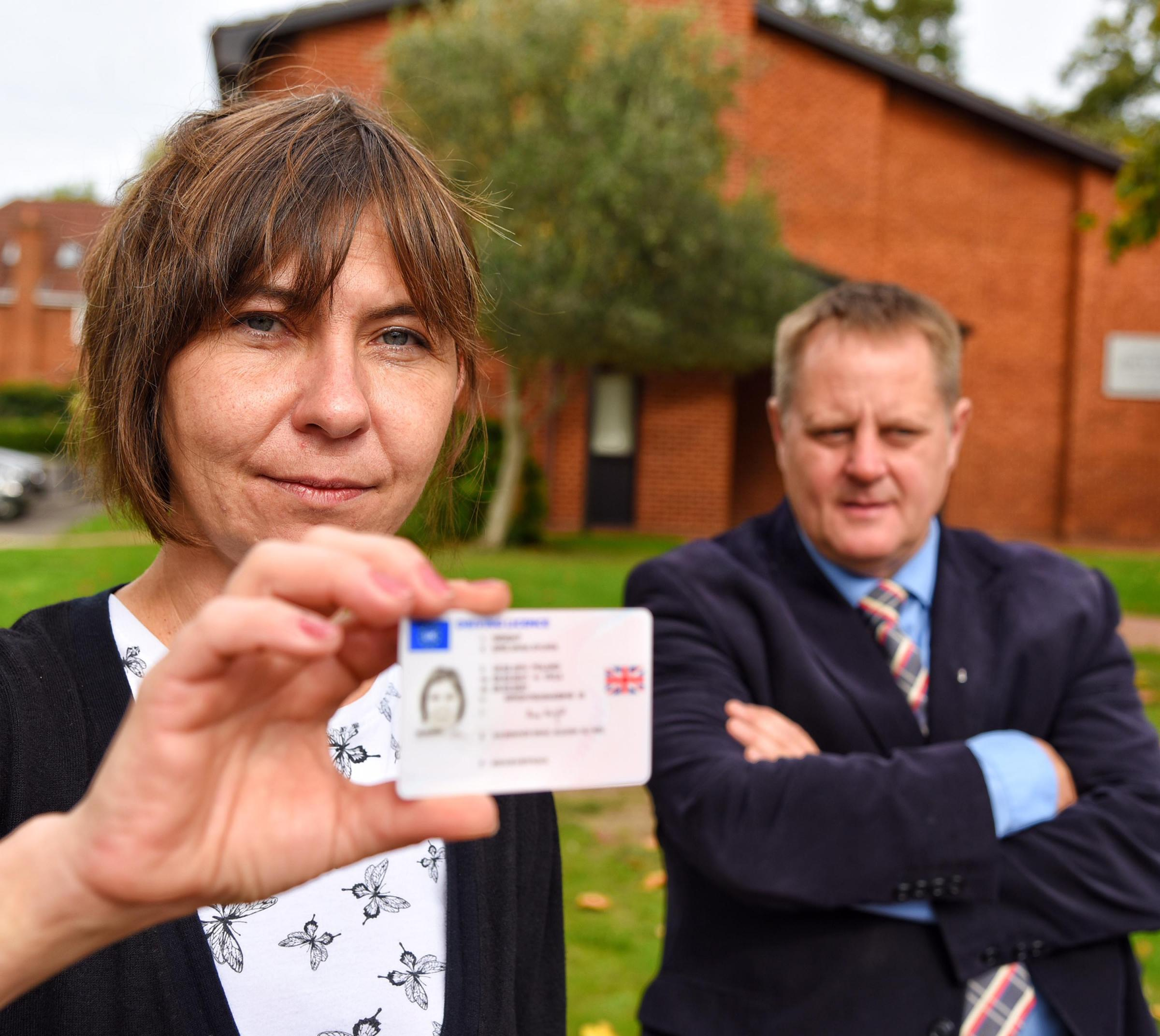 Tories Anna Wright and Wayne Strutton had wanted a full ID pilot