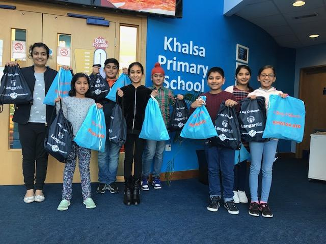 Slough pupils' Christmas delivery for the homeless