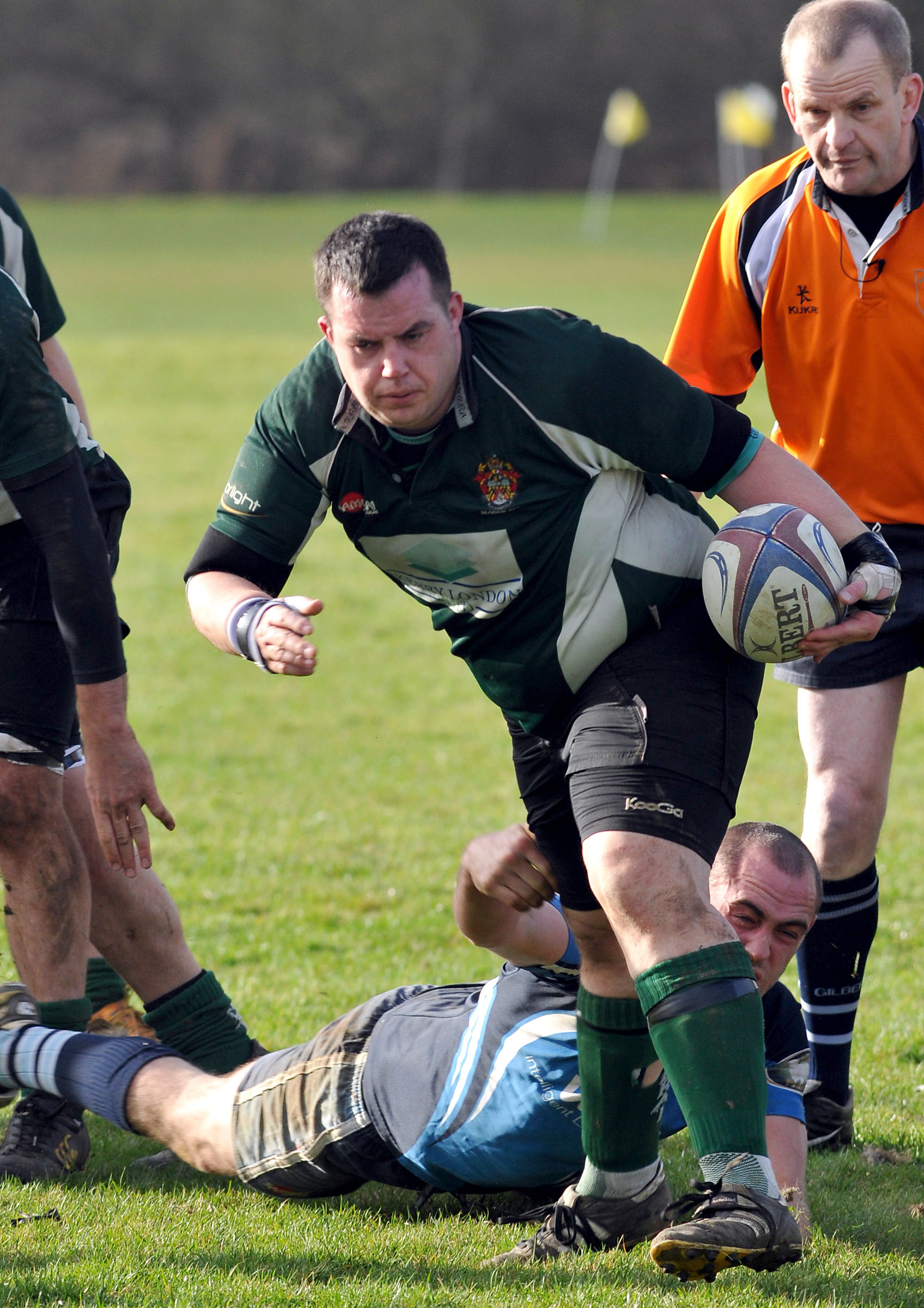 James Flisher scored two tries for Slough in the 42-27 win away at Didcot on Saturday.