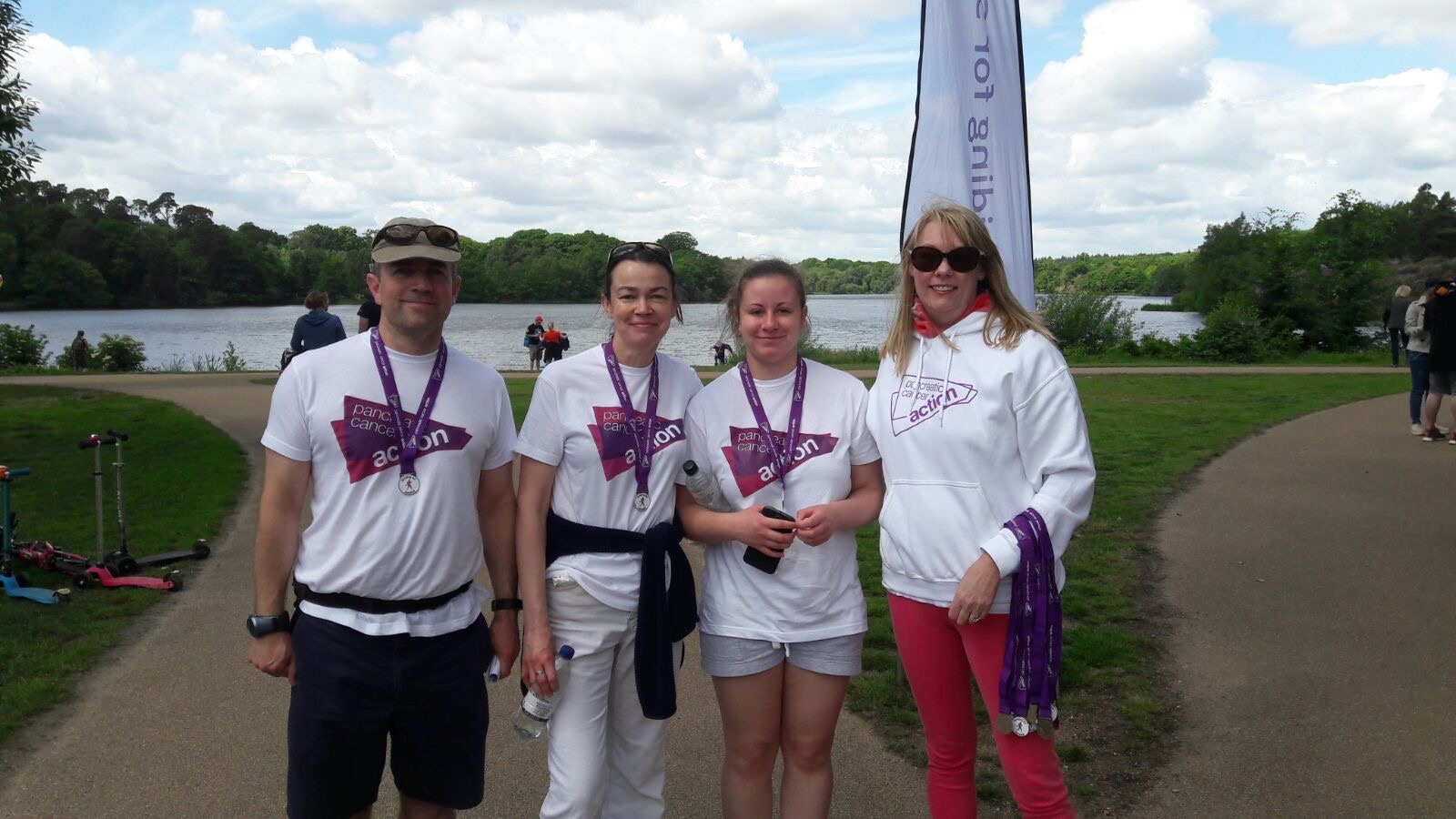 Striding for Survival - Charity walk