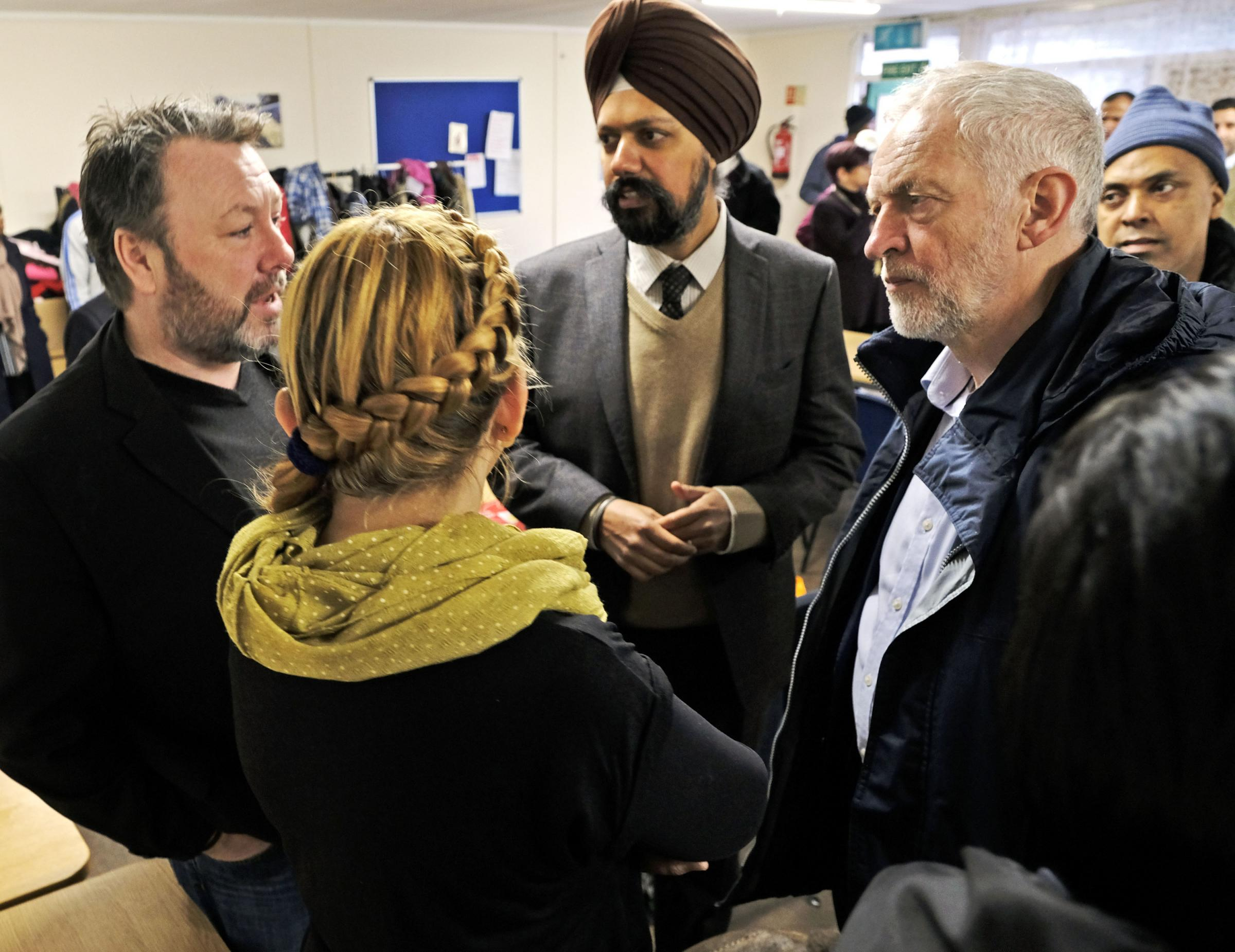 Labour leader Jeremy Corbyn gave his support to SHOC at a recent meeting