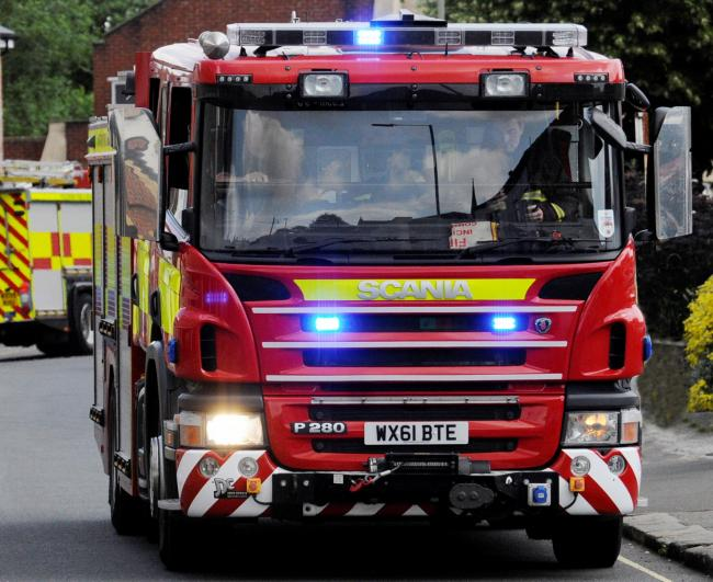 Slough firefighters rescue sleeping man from flat blaze in Burnham after oven ignites