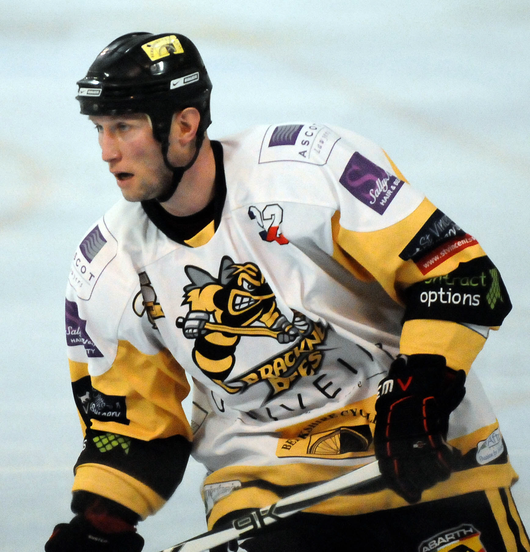 "Slough Jets player-coach and former Bracknell Bees star Lukas Smital: ""We secured the win in overtime so that proved it was a very big character victory for us."