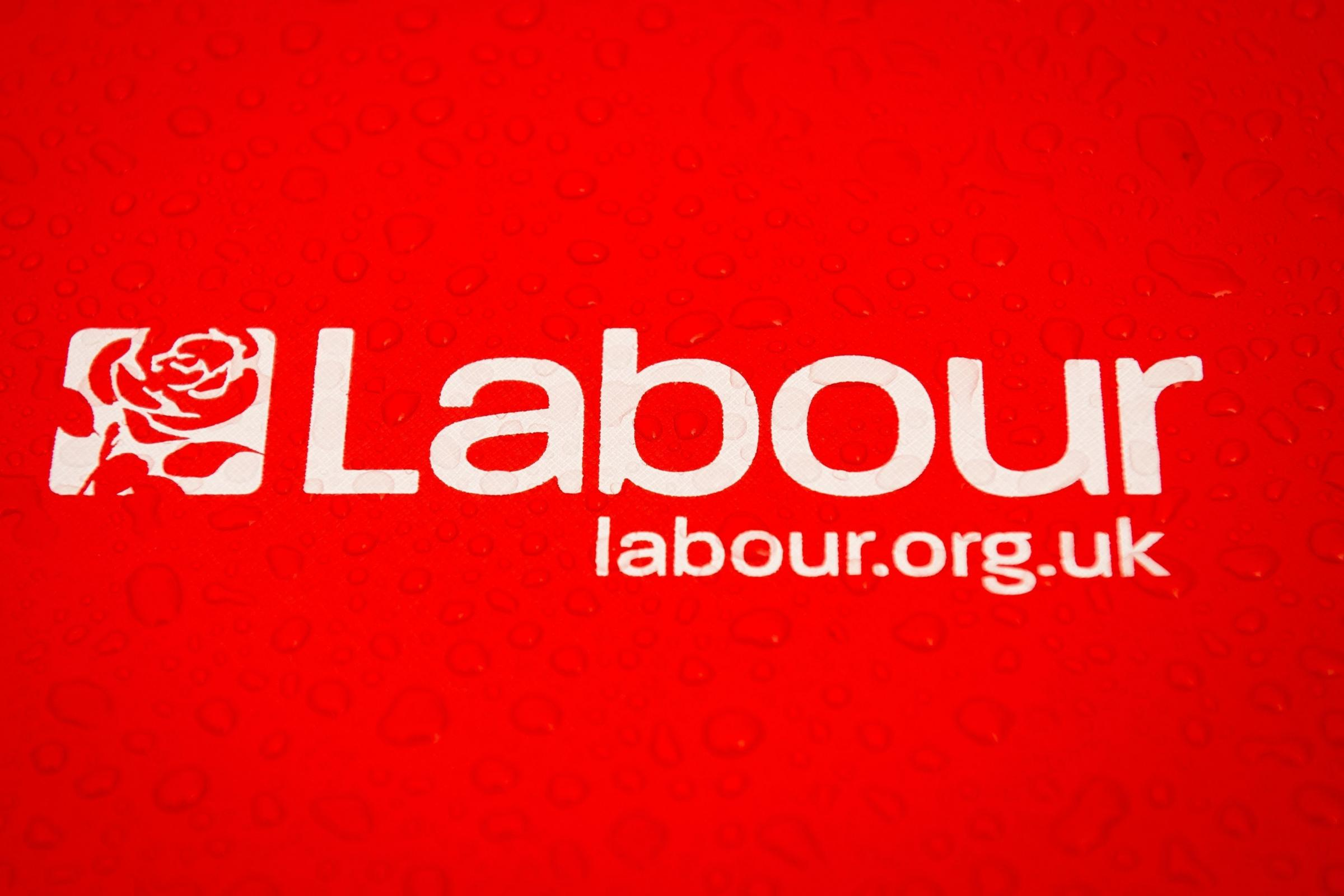 Labour party logo (Dominic Lipinski/PA)