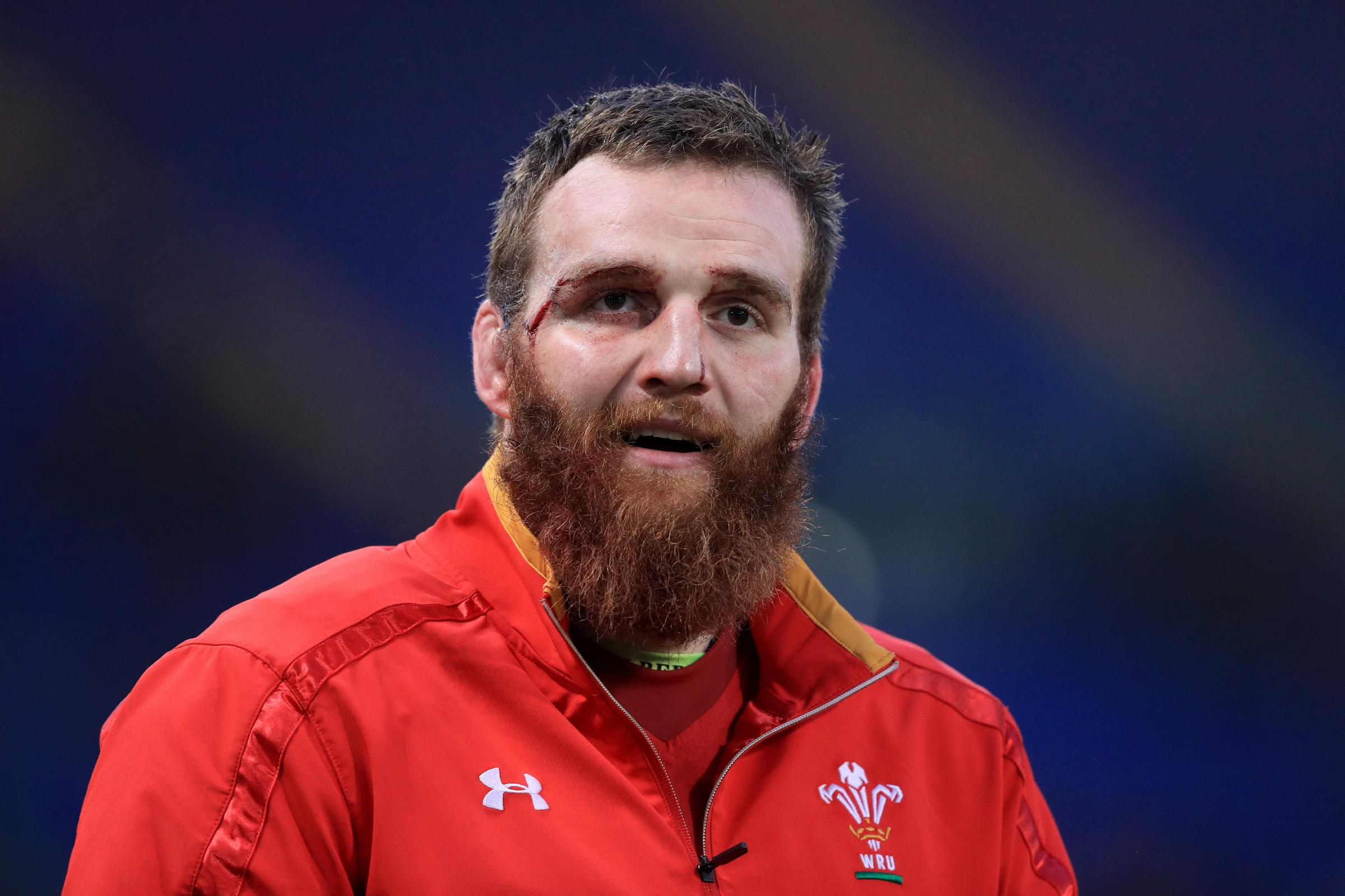 Jake Ball has signed a new deal with Scarlets (Adam Davy/PA)