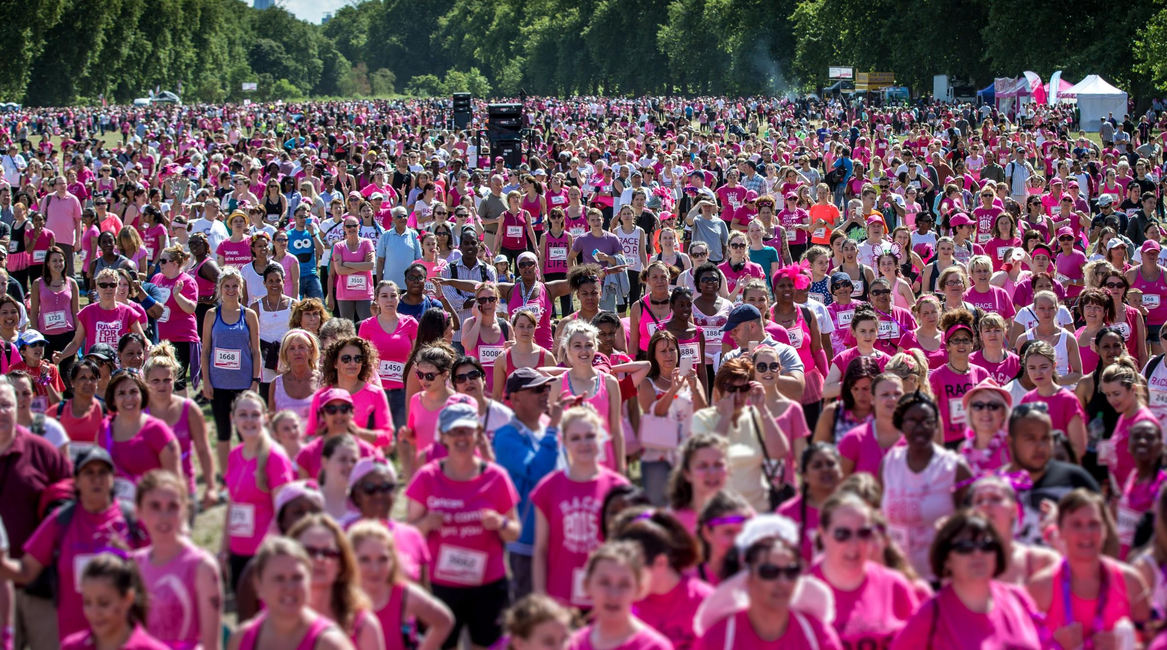 Newbury Race for Life 2018
