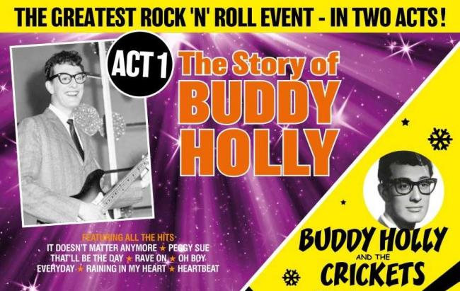 Buddy Holly, now on at the Theatre Royal, Windsor