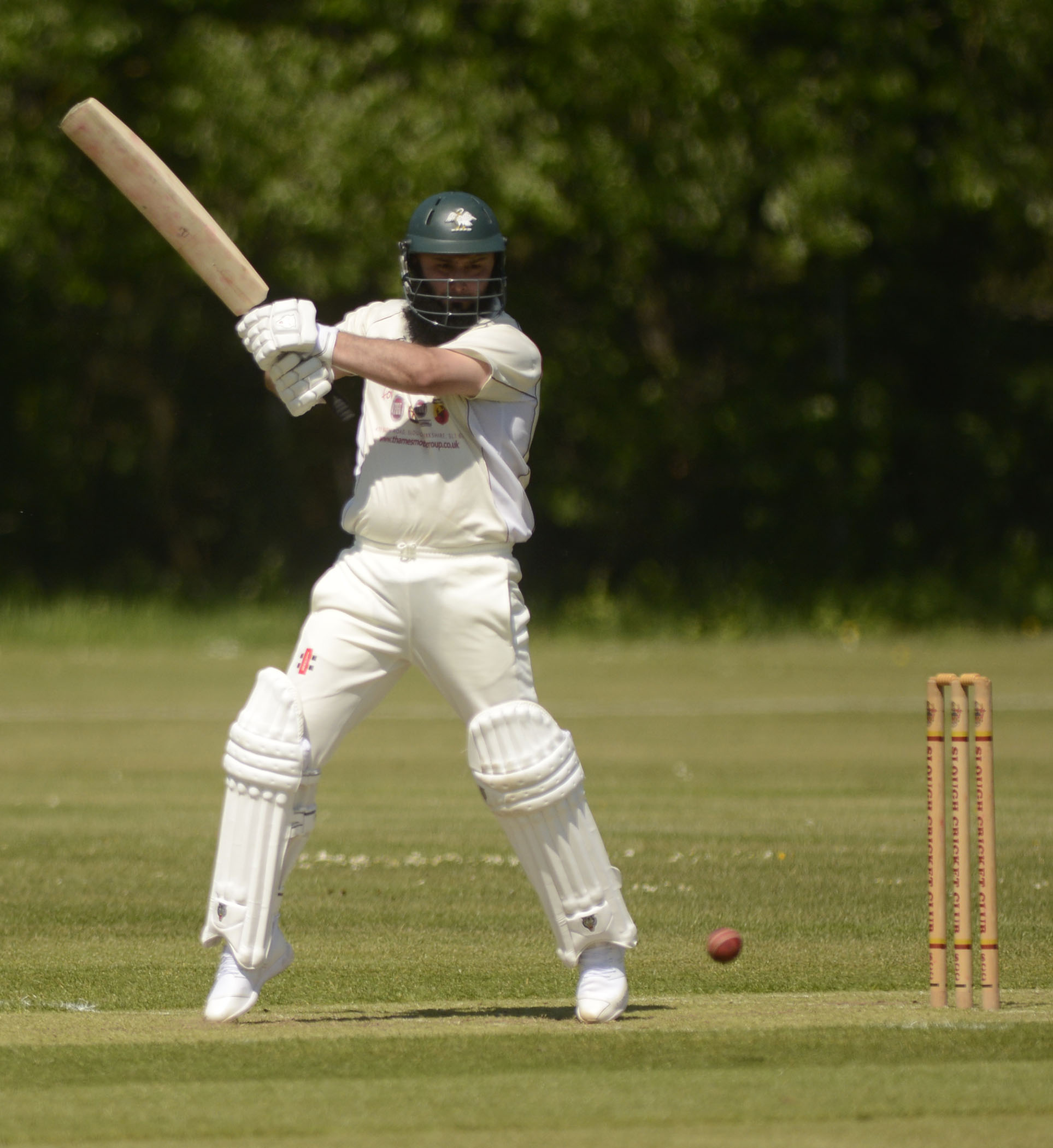 Fahim Qureshi top-scored with 91 runs as Slough beat Horspath.