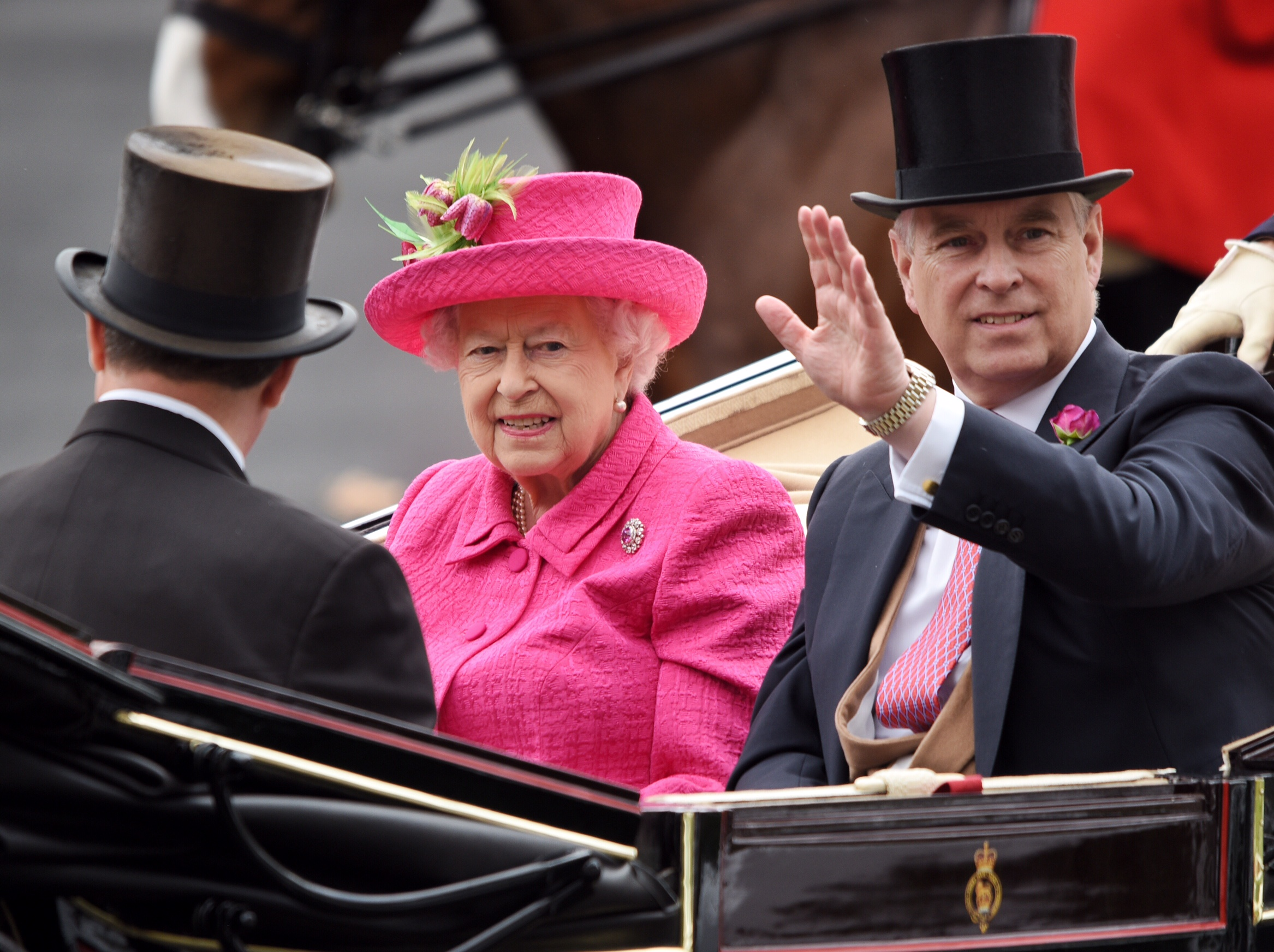 The Queen hasn't missed a day of Royal Ascot since her coronation in 1953. Picture: Mike Swift.