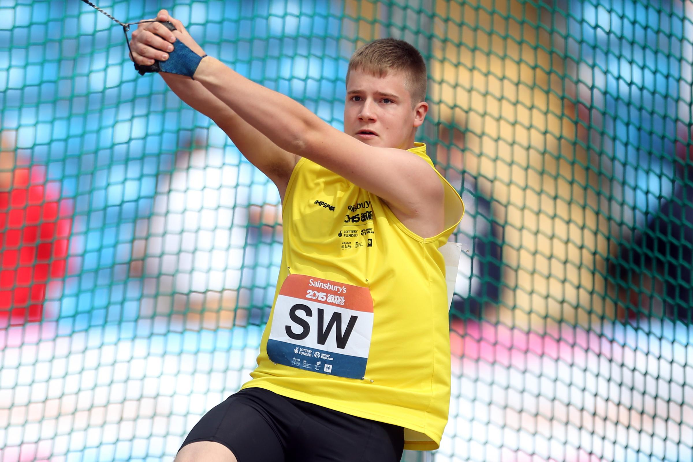 WSEH Athletics Club star Jake Norris won the Under-20 hammer with a throw of 80.45m despite only returning from his United States university three days earlier.