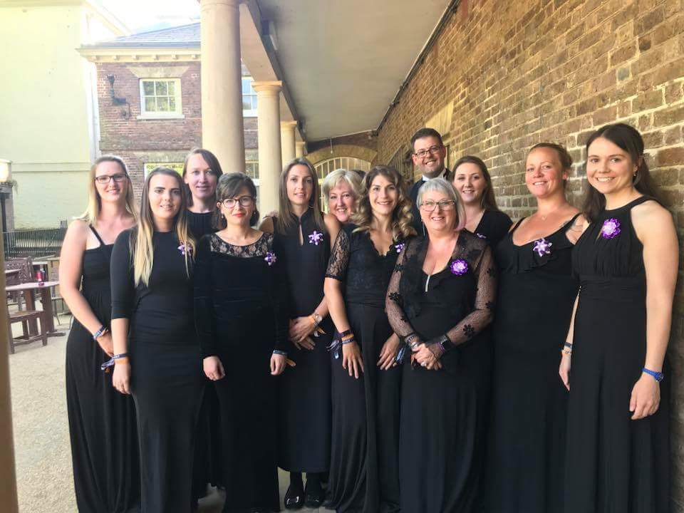 The ladies of the Windsor Military Wives Choir