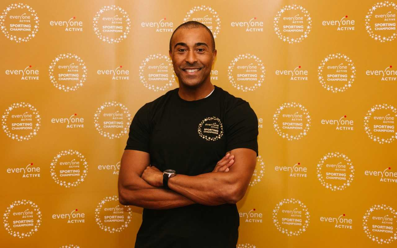 Colin Jackson won a silver medal in the 110-metre hurdles, and will take part in a Q&A session and sign autographs at the venue