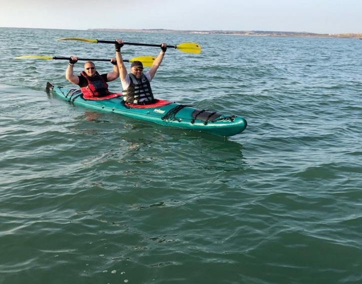 Kayaking challenge raises £4,000 for three great causes