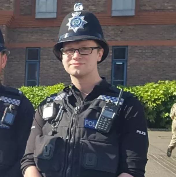 PC Tom Dorman has had to have an amputation