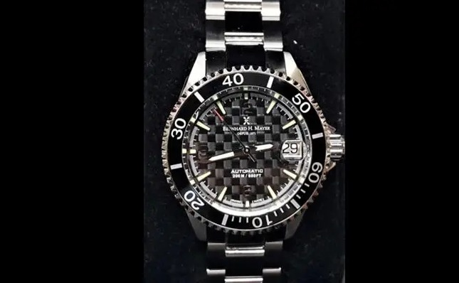 The stolen watch is similar to the one pictured