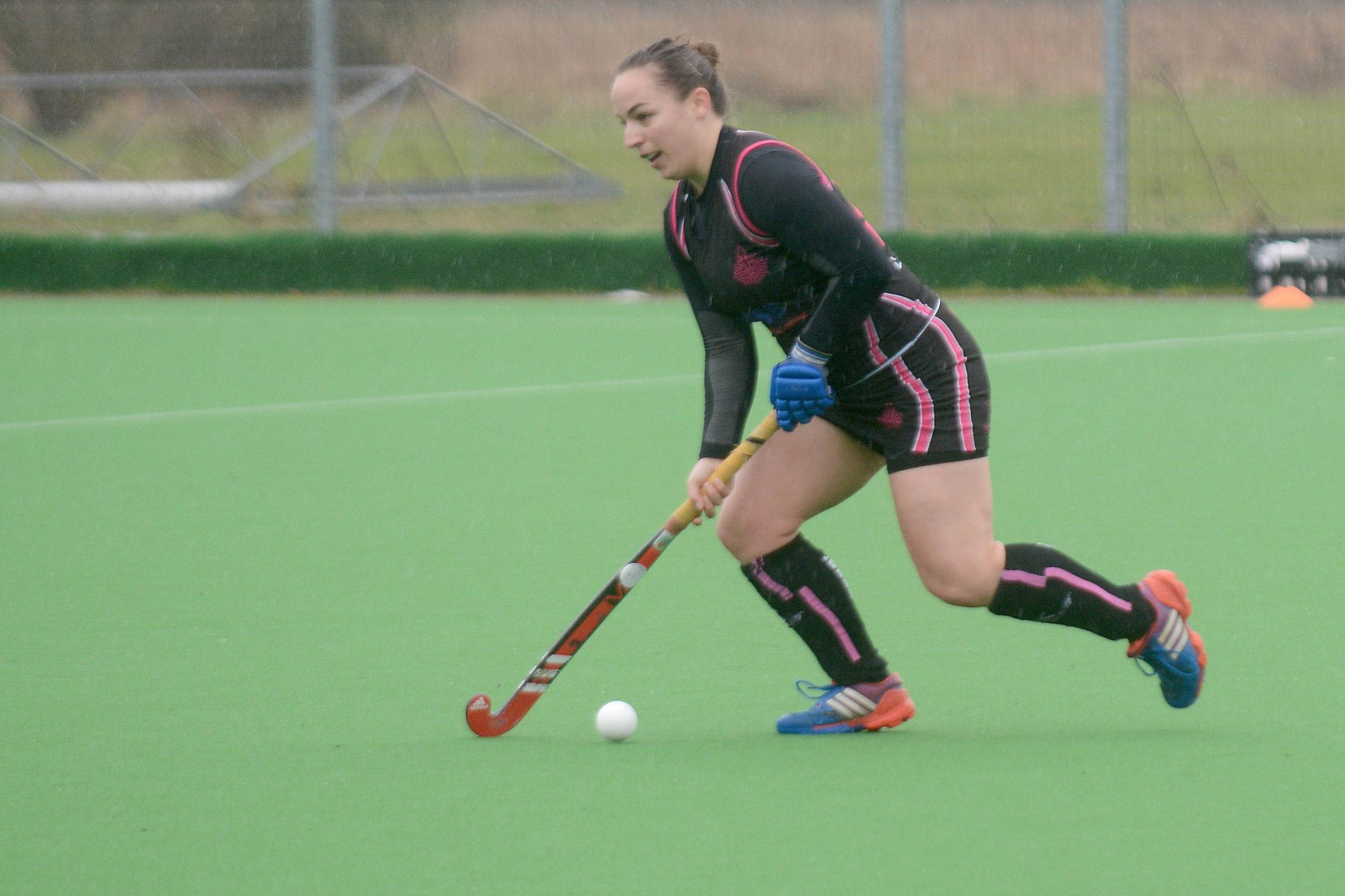 Dilly Newton scored for Slough Hockey Club ladies in the 3-2 defeat against Buckingham on Saturday.