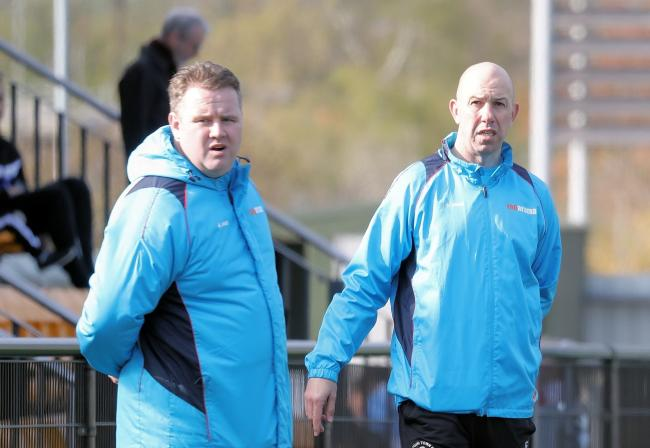 Slough Town joint-managers Neil Baker, left, and Jon Underwood, right, will have seven new opponents in the National League South next season.