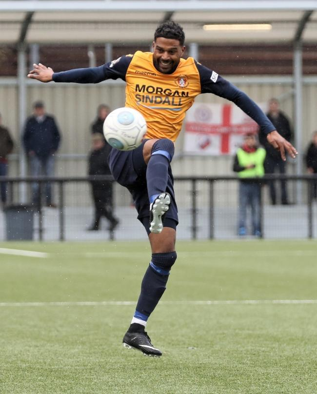 Louie Soares (pictured) and Nathan Smart have departed the Rebels after helping them to win the Berks & Bucks Senior Cup this season.