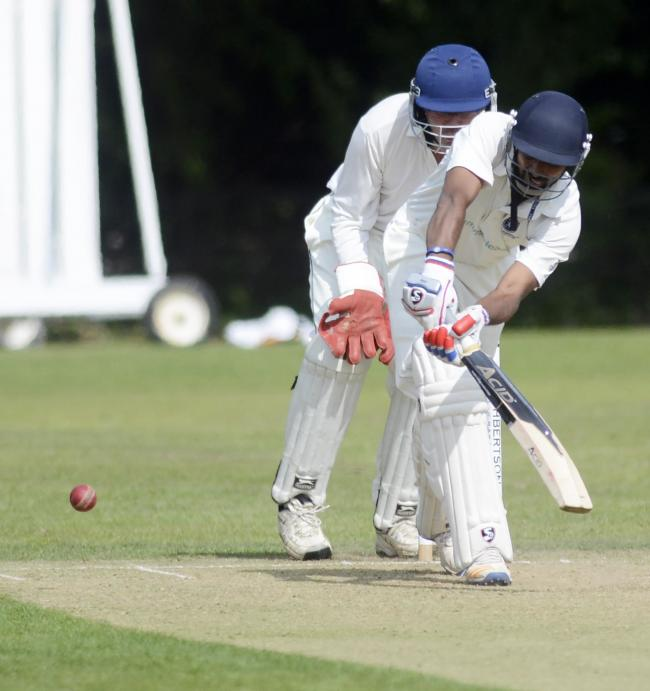 Sahaan John (batting) claimed 7-32 from 9.5 overs as North Maidenhead beat Gerrards Cross by nine wickets on Saturday.
